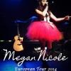 Megkezdte turnéját Megan Nicole