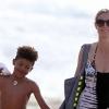Megmentette fia életét Heidi Klum