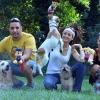 Megmutatták különleges kutyáikat a sztárok