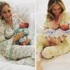 Megszületett Ashley Jones első gyermeke – fotók
