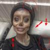 Mindenkit hülyére vett az Angelina Jolie-ra hasonlító zombilány
