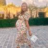 Miranda Kerr nagyon mosolygós, nagyon terhes fotót posztolt