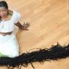 Nem hajlandó megválni 16 méteres hajától egy amerikai nő