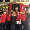 Nem lehet nem szeretni! Adele meglátogatta a tűzoltókat, akik a Grenfell Towert oltották