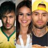 Neymar kiakadt, mert Chris Brown lájkolta a barátnőjét