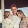 Nico Rosberg másodszor is apa lesz