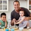 Nigel Barker péknek áll gyerekei szülinapján