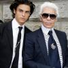 """Örökös vagy sem? Egy francia modell szerint ő Karl Lagerfeld """"spirituális fia"""""""