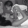 Őrület! Méregdrága táskával flangált Kim Kardashian 3 éves kislánya