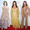 Producers Guild Awards: Eva Longoria gyönyörű arany estélyiben ragyogott