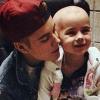 Rákos kislányt látogatott meg Justin Bieber