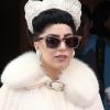 Repülőgépen villantott Lady Gaga
