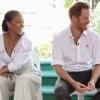 Rihanna hihetetlenül mutat Harry herceg mellett