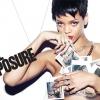 Ismét lenge öltözékben állt a kamerák elé Rihanna