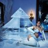 Rihanna szexi fotóval reklámozza karácsonyi fehérneműkollekcióját