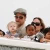 Saját vidámparkot kapnak Brad Pitt gyerekei