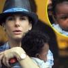 Sandra Bullock a kisfiáról beszél