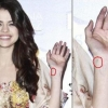 Selena Gomeznek tetoválása van?!