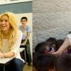 Shakira jeruzsálemi iskolába látogatott