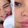 Smink nélkül babázik Kylie Jenner – videó!
