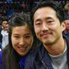 Steven Yeun felesége megmutatta újszülött kisfiukat