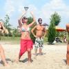 Strandröplabda kupán a SportKlub sztárjai