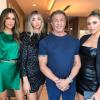 Sylvester Stallone ismét gyönyörű lányaival pózolt