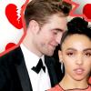 Szakított a pár: felbontotta eljegyzését Robert Pattinson és FKA Twigs