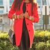 Színes kabát: így hordják a sztárok
