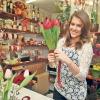 Szunai Linda virágárus lett