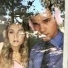 Taylor Lautner támogatja szerelmét, Carrie Fisher lányát