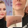 Tetoválással tiszteleg újszülött kislánya előtt Sophie Turner