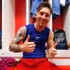 Új hajszínnel sokkol Lionel Messi