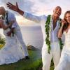 Újabb esküvői fotók láttak napvilágot Dwayne Johnson esküvőjéről