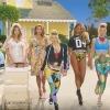 Újabb hazai siker: Sugarbird-ruhában pózol Devon Aoki Fergie visszatérő kisfilmjében