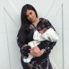 Újra posztol kislányáról Kylie Jenner