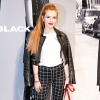 Vagány bőrszerkóban jelent meg a Diesel Black Gold Show-n Bella Thorne