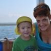 Vágó Piros úszógumi-szaggató nyaraláson volt