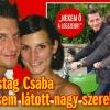 Vastag Csaba megmutatta szerelmét