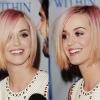 Katy Perry megvált rózsaszín hajától
