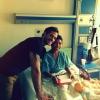 William Levy rákbeteg gyerekeket látogatott meg