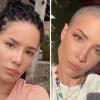 Wow! Halsey teljesen leborotválta haját