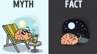 11 mítosz az emberi testtel kapcsolatban
