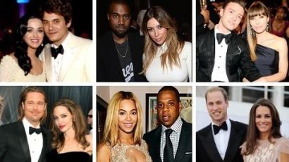 Összefoglalás 2013: a legnépszerűbb sztárpárok