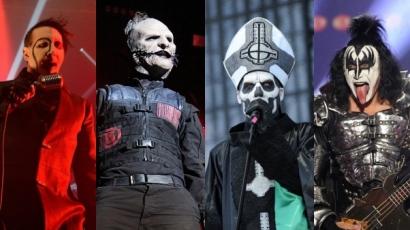 21 rock- és metal előadó, aki mindig készen áll a Halloweenre