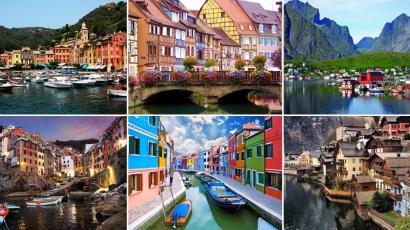 25 képeslapra illő hely, amiről nehéz elképzelni, hogy valóban létezik