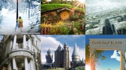 Nyolc könyvbéli hely, ahová mindenki el szeretne jutni
