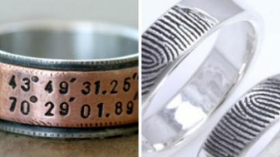 Ilyen gyűrűkkel házasodnak a különcök