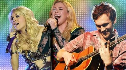 A 15 legsikeresebb dal American Idoloktól