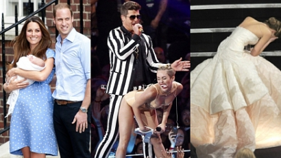 A 20 legikonikusabb celebfotó 2013-ból